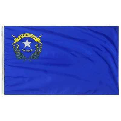 3ft. x 5ft. Nevada Flag with Brass Grommets
