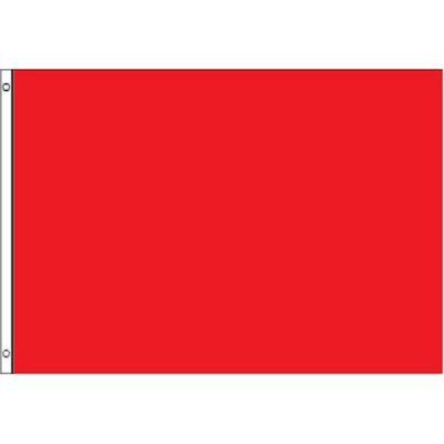 3ft. x 5ft. Red Warning Flag