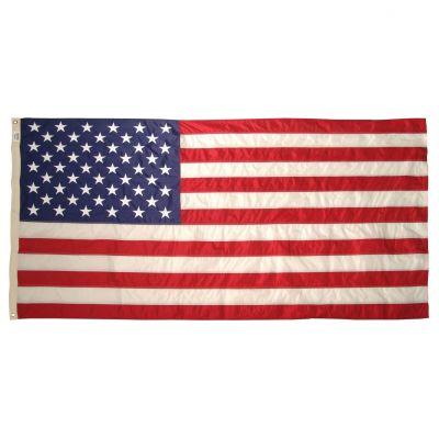 8ft. 11-3/8 in. x 17ft. Nylon G-Spec US Flag