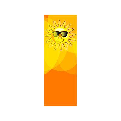 30 x 96 in. Seasonal Banner Sunny Sunglasses