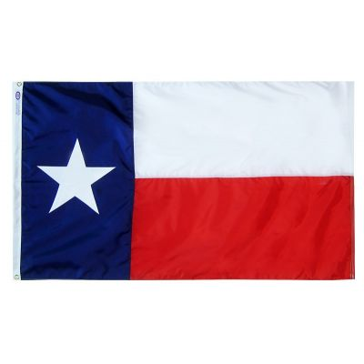 4x6 ft. Nylon Texas Flag with Heading and Grommets