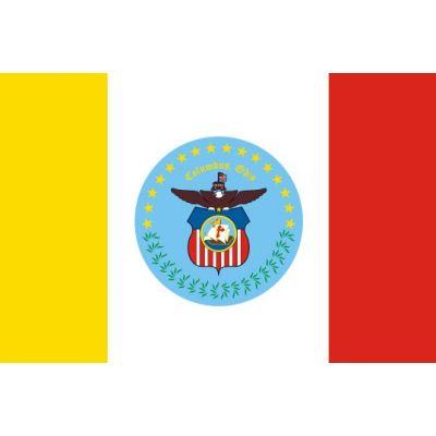 5 x 8ft. City of Columbus Flag