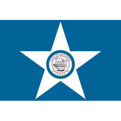 6 x 10ft. City of Houston Flag
