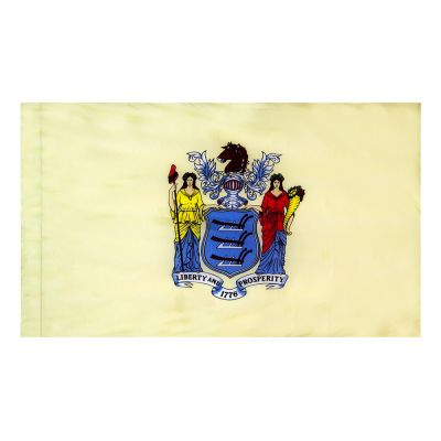 4ft. x 6ft. New Jersey Flag for Parades & Display