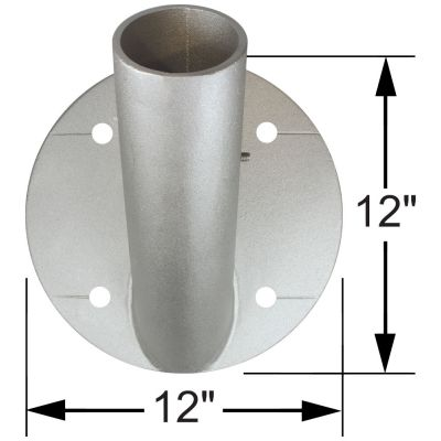 45 Degree Bracket with Dimensions