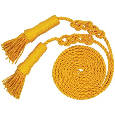 Yellow Cord and Tassels 3 in. to 6in.