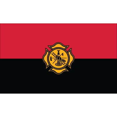 3 x 5 ft. Fireman Remembrance Flag Outdoor Use