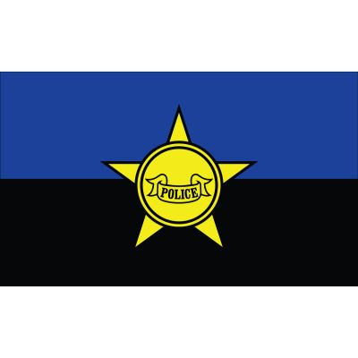 3 x 5 ft. Police Remembrance Flag Outdoor Use