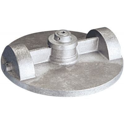 Stainless Steel Flagpole Truck Top View