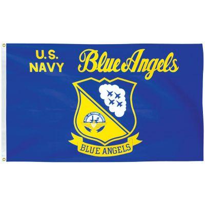 3 x 5 ft. Blue Angels Flag E-Poly