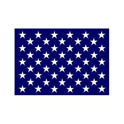 20 x 30 in. U.S. Union Jack Ensign Cotton