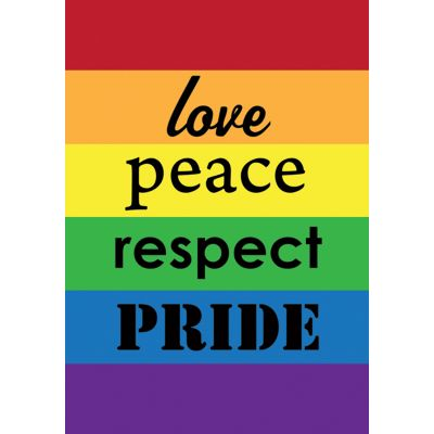 Pride House Flag