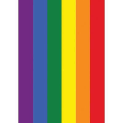 Rainbow Pride House Flag