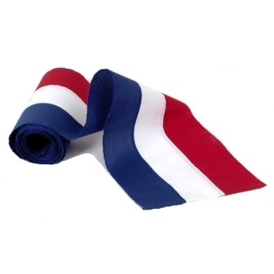 36 in. x 60 yds. Bolt Red White Blue Bunting