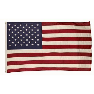 5ft. x 9ft. 6 in. Cotton U.S. Flag