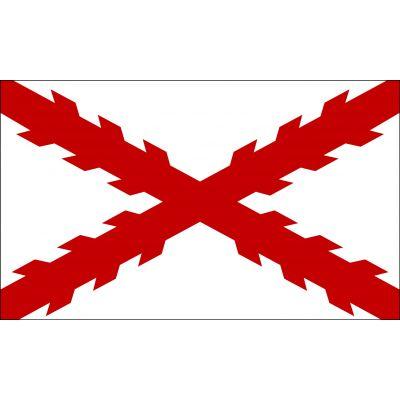 3 ft. x 5 ft. Cross of Burgundy Flag