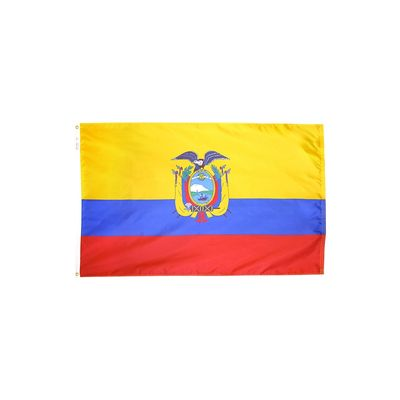 3ft. x 5ft. Ecuador Flag E-poly