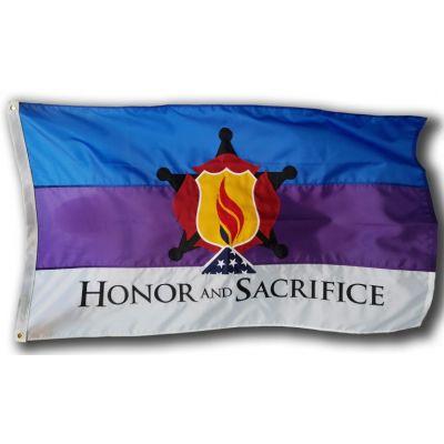 3 x 5ft. Honor and Sacrifice Flag