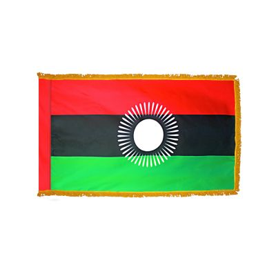 4ft. x 6ft. Malawi Flag for Parades & Display with Fringe