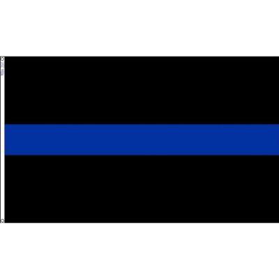 3 ft. x 5 ft. The Blue Line Flag