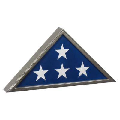 Veteran Flag Display Gunmetal