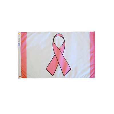 2 ft. x 3 ft. Pink Ribbon Flag