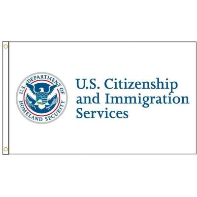 3ft. x 5ft. DHS Citizen and Immigration Service flag