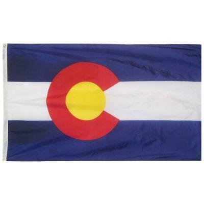 12 x 18 in. Colorado flag