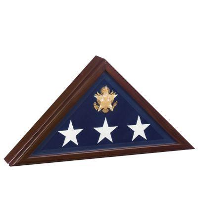 Presidential Flag Display Case Cherry