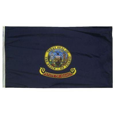 12 x 18 in. Idaho flag