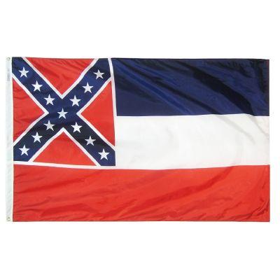12 x 18 in. Mississippi flag