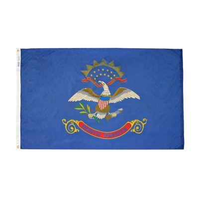 12 x 18 in. North Dakota flag