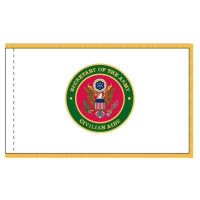 3 x 4 ft. Civilian Aides to the Secretary of the Army Flag w/Fringe
