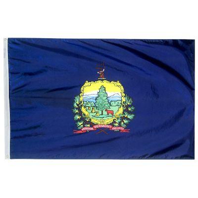12 x 18 in. Vermont flag