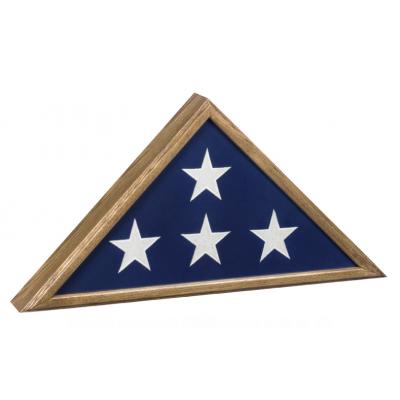 Veteran Flag Display Oak