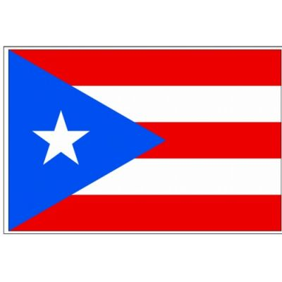 4ft. x 6ft. Puerto Rico Flag Cotton