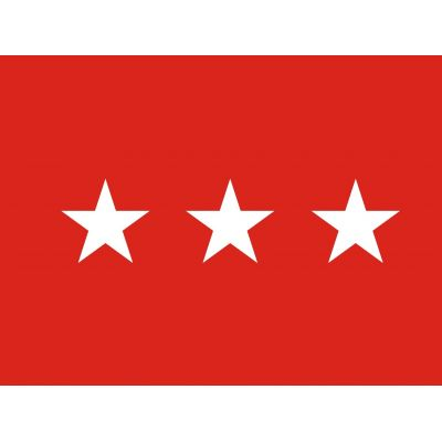 3ft. x 5ft. Army 3 Star General Flag Pole Sleeve