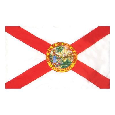 2ft. x 3ft. Florida Flag Side Pole Sleeve