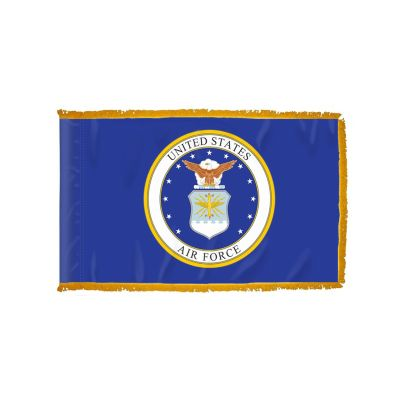 3ft. x 5ft. Air Force Flag for Indoor Display with Fringe