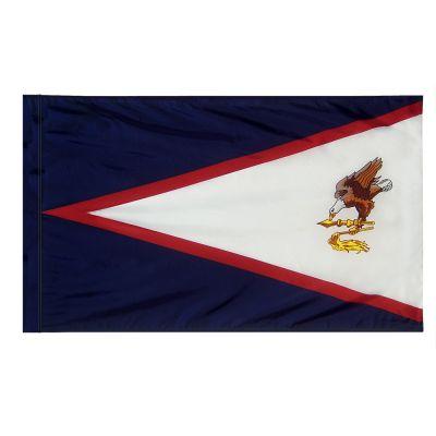 4ft. x 6ft. American Samoa Flag with Side Pole Sleeve