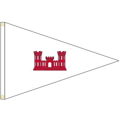 US Army Corps of Engineer District  Engineer Pennant