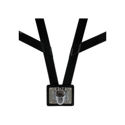 Honor Guard Flag Carrying Harness w/ Nickel Cup