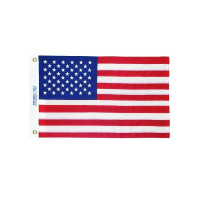 20 in. x 30 in. US Flag Nylon Heading & Grommets