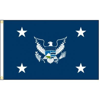 3ft. x 5ft. Secretary of Homeland Security Flag w/ H&G