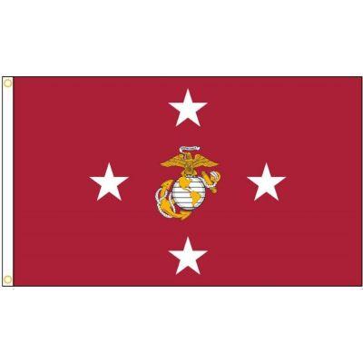 3ft. x 5ft. Commandant of the Marine Corps Flag