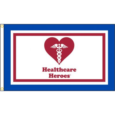 3ft. x 5ft. The Healthcare Heroes Flag