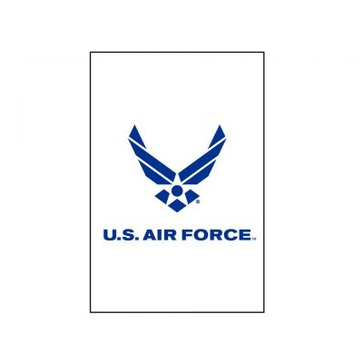 12 in. x 18 in. US Air Force Logo Garden
