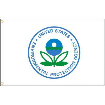 3ft. x 5ft. Enviromental Protection Agency Flag Heading & Grommets