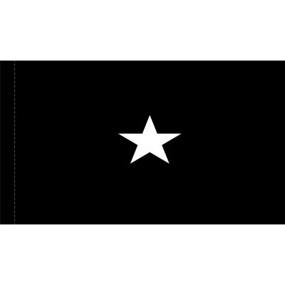 4ft. x 6ft. Space Force 1 Star General Flag w/ Side Pole Sleeve