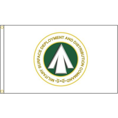 Military Surface Deployment & Distribution Command Flag